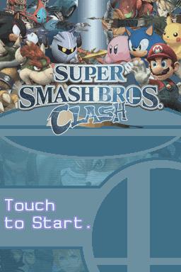 super smash bros clash