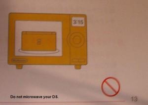 Le vere istruzioni del Nintendo DS