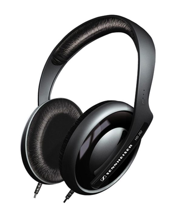 Sennheiser HD 202 II Over Ear Headphone Without Mic - Buy ...
