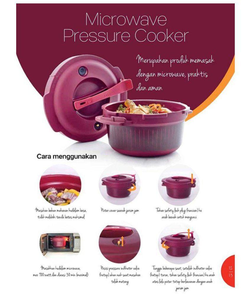 tupperware meroon microoven pressure