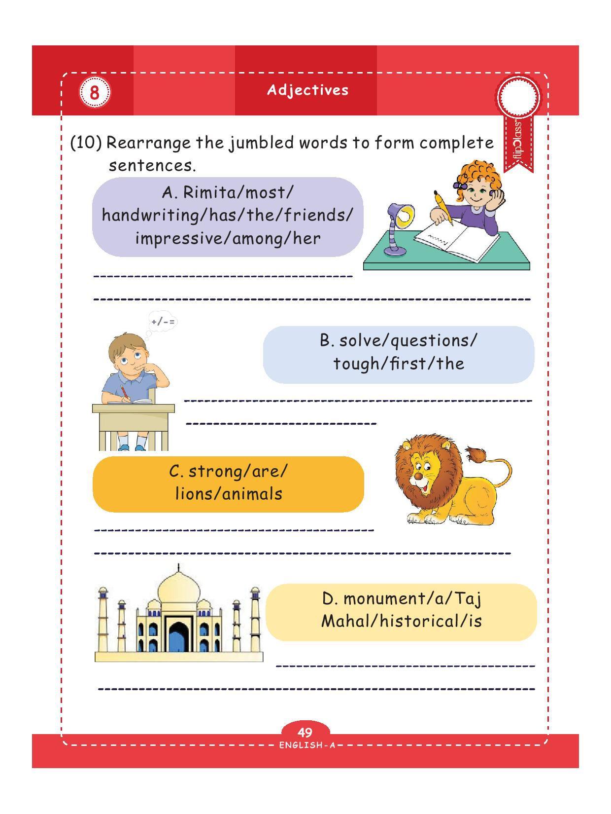Genius Kids Worksheets Bundle For Class 3 Grade 3