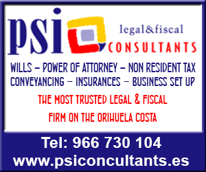 PSI Consultants, the most trusted legal and fiscal firm on the Orihuela Costa