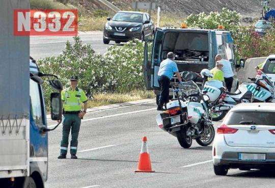 20150515 - Man Killed in Motorway Hit and Run