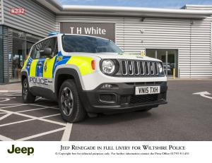 Jeep Renegade Joins the Police