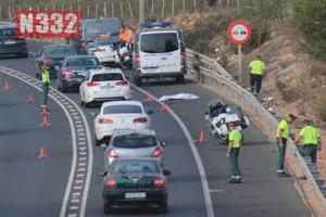 Fatality on the N332 in Torrevieja