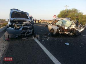 Fatal Crash on the N-332 near La Marina