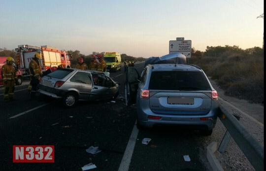 Fatal Crash on the N332 (3)