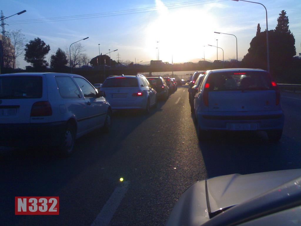 Traffic Jams Cost Over 140 Million Euro