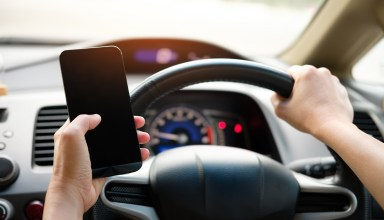 Don´t use your mobile when driving