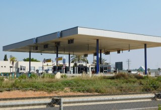 Toll road La Zenia