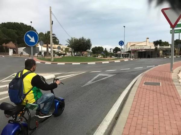 VMP vehicle in Spain