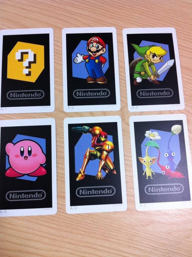Las seis tarjetas de RA