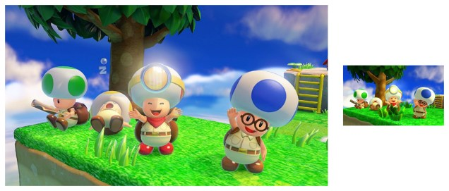 Capitán Toad en 3DS y Switch