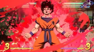 Goku en su estado normal