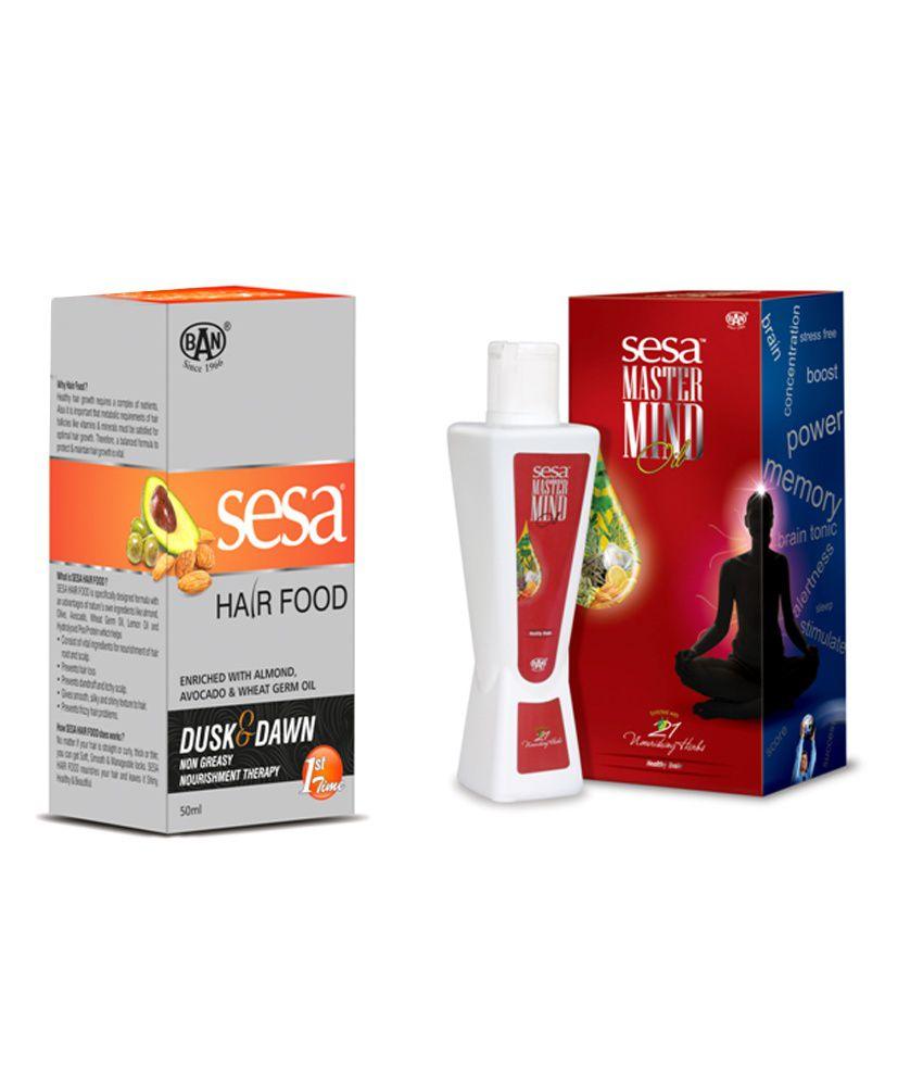 Sesa Hair Food 50 Ml Amp Sesa Mastermind Oil 200 Ml Buy