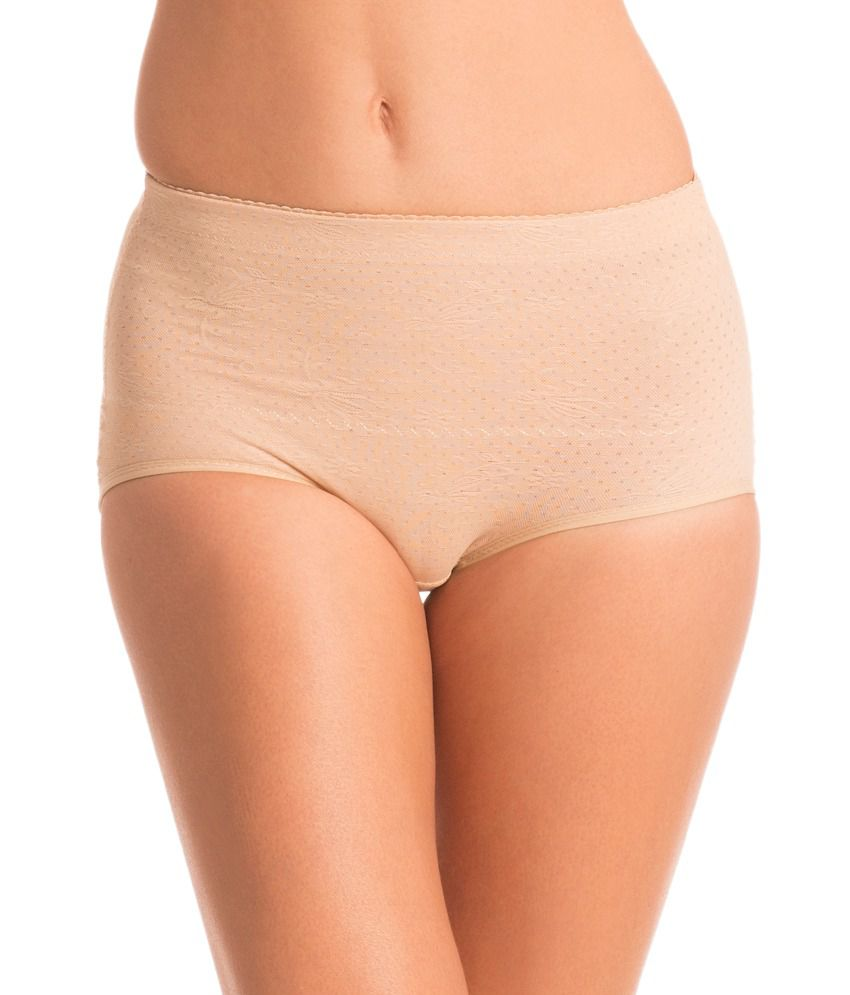 Buy Prettysecrets Tan Racerback Shapewear Online At Best