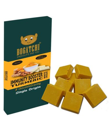 BOGATCHI Ayurvedic Turmeric Almond 8 Bites Dark Chocolate 80 g: Buy BOGATCHI  Ayurvedic Turmeric Almond 8 Bites Dark Chocolate 80 g at Best Prices in  India - Snapdeal