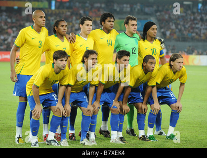 Brazil team group line-up (BRA), JUNE 10, 1990 - Football ...