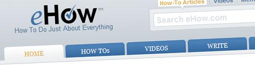 eHow, miles de videotutoriales gratis