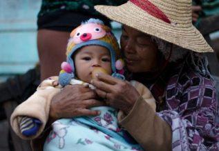 At The Morning Market At Hsipaw