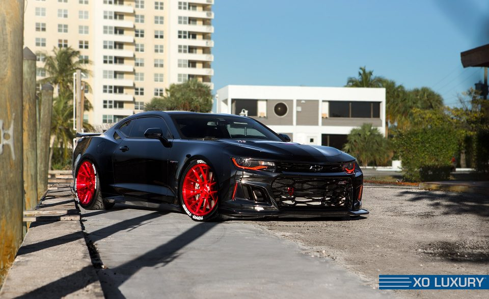 6 Generation Chevrolet Camaro Gets New Xo Luxury Wheels