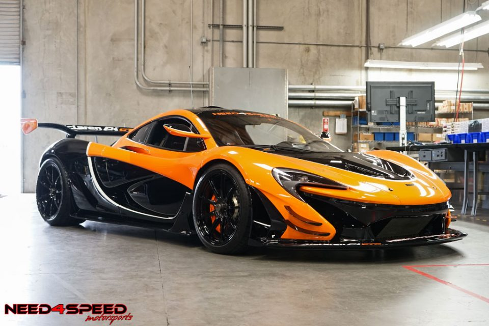 This Mclaren P1 Gtr Looked Stunning At The Hre Event