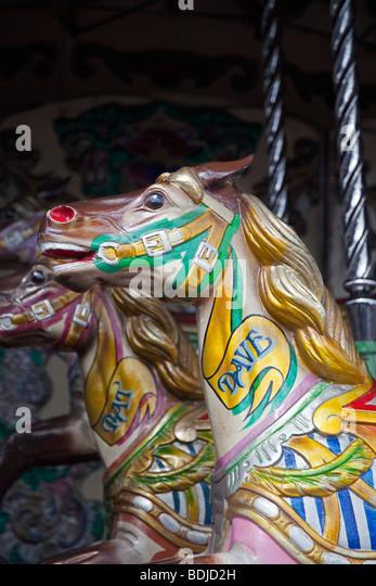 San Francisco Music Box Carousel Horse