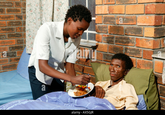 Dying Patients Nurse Bedside
