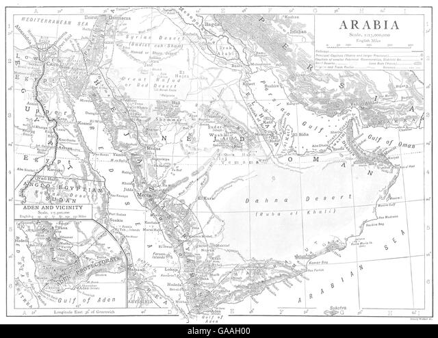 Arab Map Emirates United Its And Borders