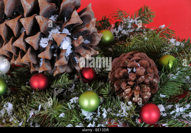 christmas decorations on a african hut - African Christmas Decorations