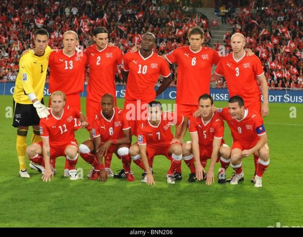 Switzerland National Soccer Team Stock Photos ...