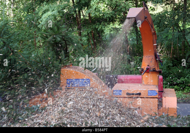 Heavy Duty Tree Shredder