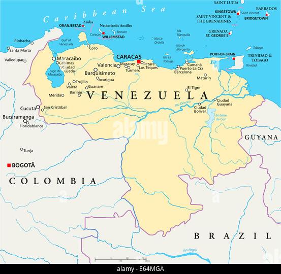 Lake Maracaibo Map Location