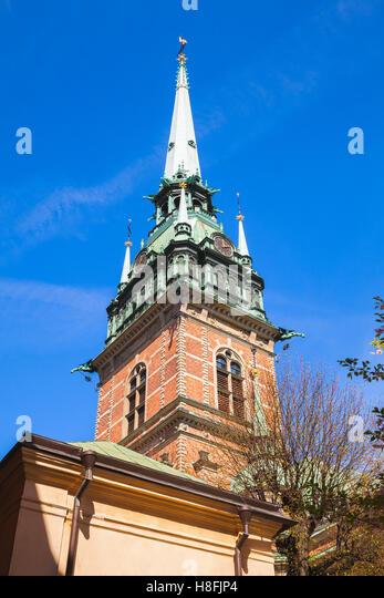 Kindstugatan Old Town Stockholm Stock Photos ...