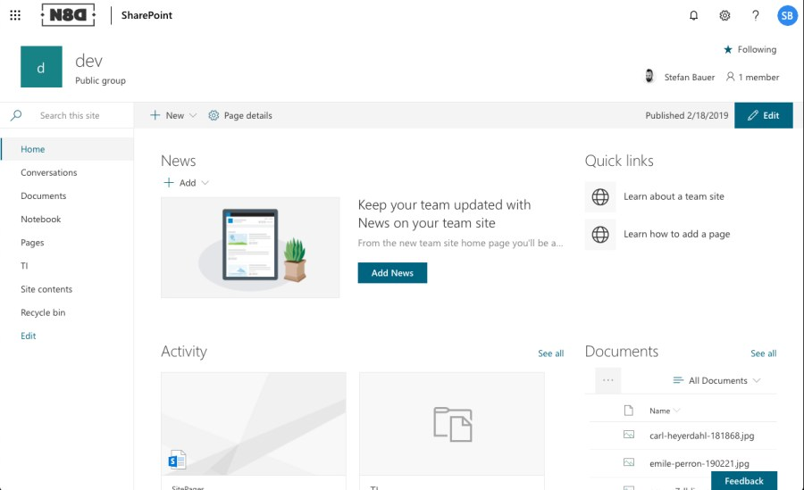 Whitespace Regain Distraction Free Working In Sharepoint Stefan Bauer N8d