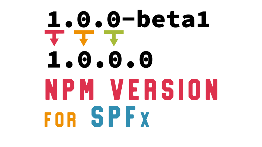 Use `npm version` to upgrade version of your SPFx solution | Stefan