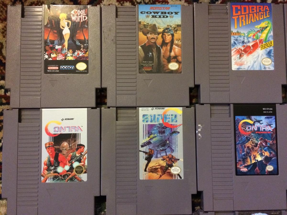 Super Massive NES Collection SOLD Nate Duke Wholesome