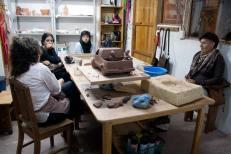 Visita al taller de la artista Natalia Espinosa