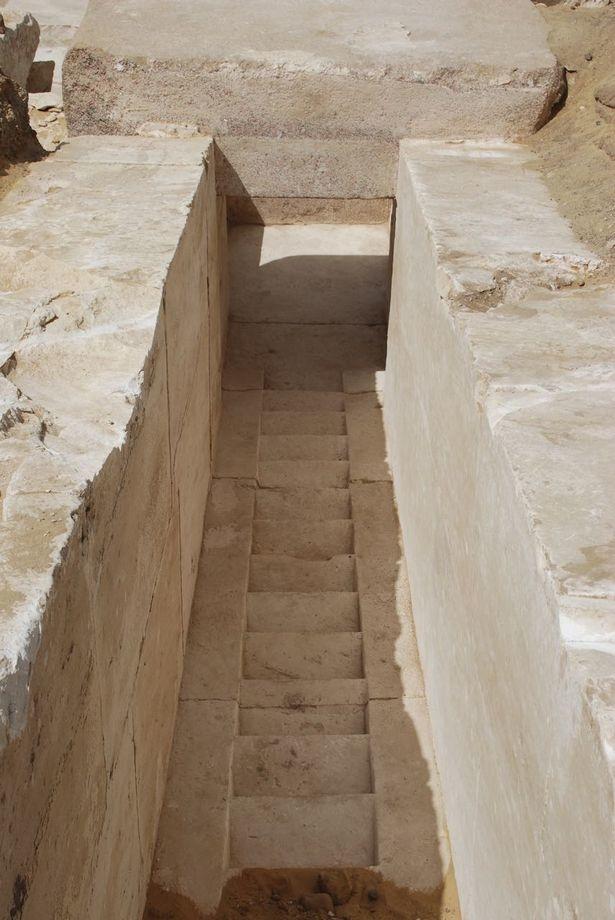 Руины ранее неизвестной пирамиды