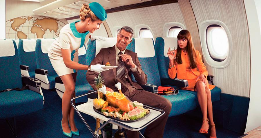 Еда в самолёте теряет вкус
