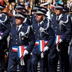 Полиция на параде