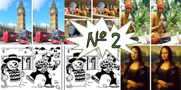 Игра: найди отличия на двух картинках. Выпуск 2.
