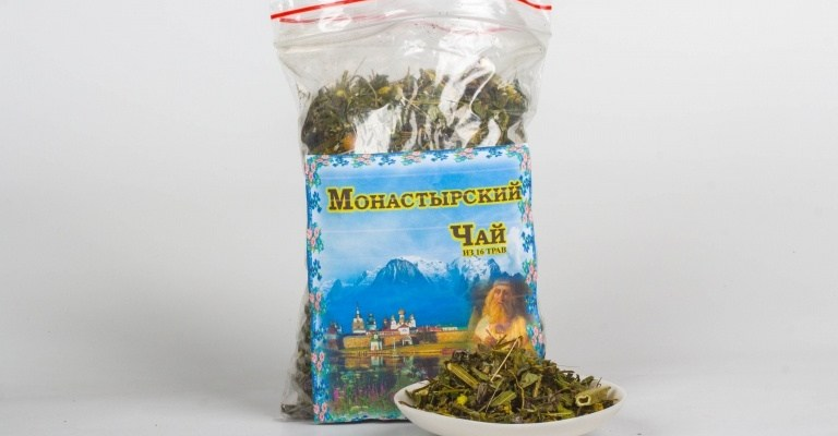 монастырский чай состав, монастырский чай лечение