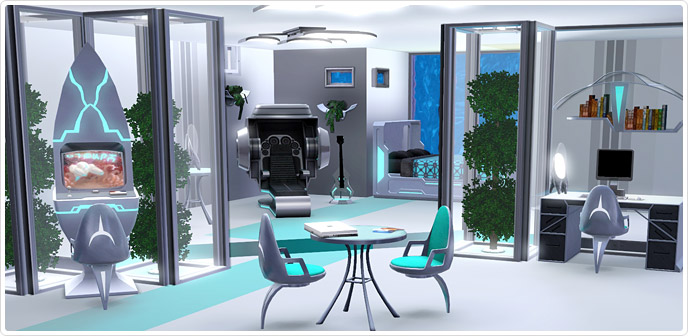 Futureshock Bedroom Store The Sims 3