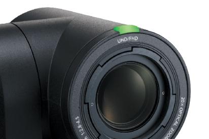 AW-UE150 Tally Light Integrated Camera indicator ptz camera stealth camera