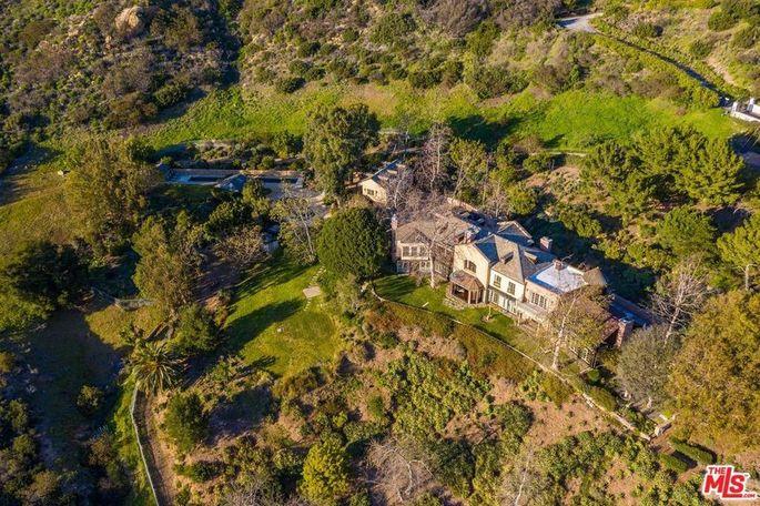 Mel Gibson's Malibu, CA, estate