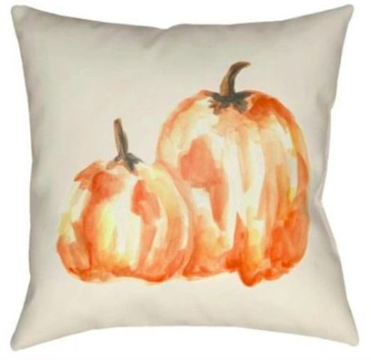 Recover from pumpkin spice overload by resting on this pillow.
