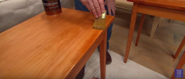 how to stain wood
