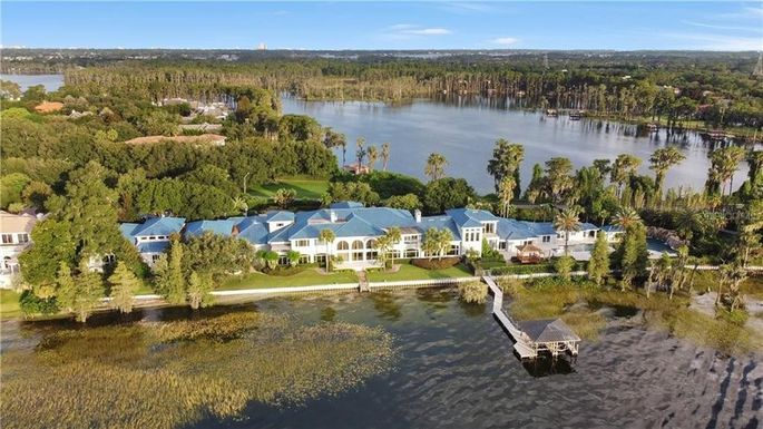 Shaquille O'Neal's Florida estate