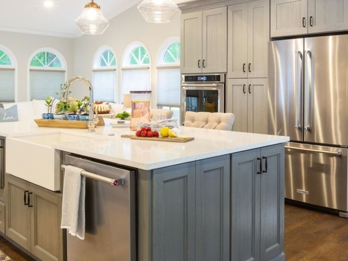 A kitchen island could weigh more than the floor supports.